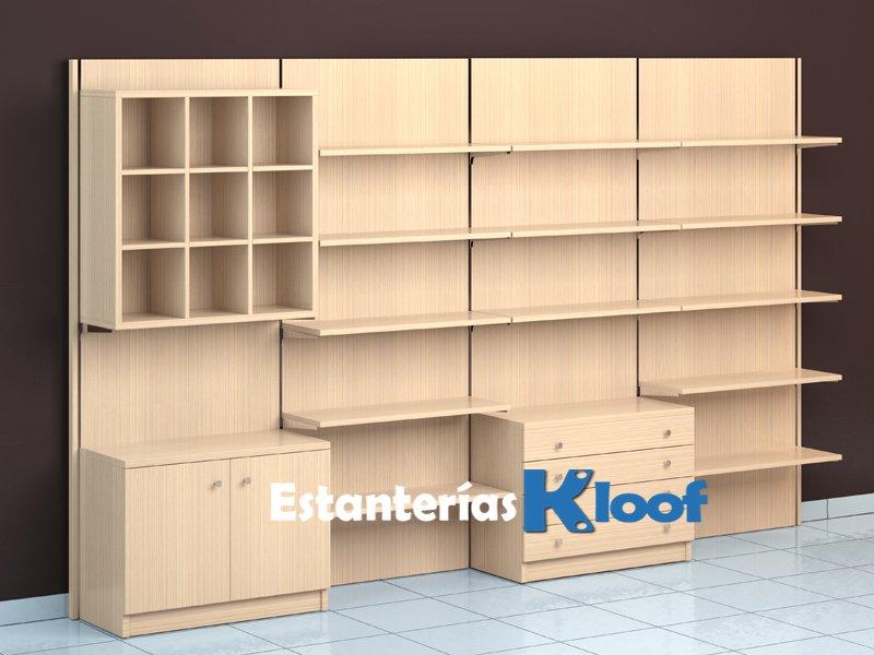 Estanter as para tiendas mobiliario para tiendas - Estanterias en madera ...