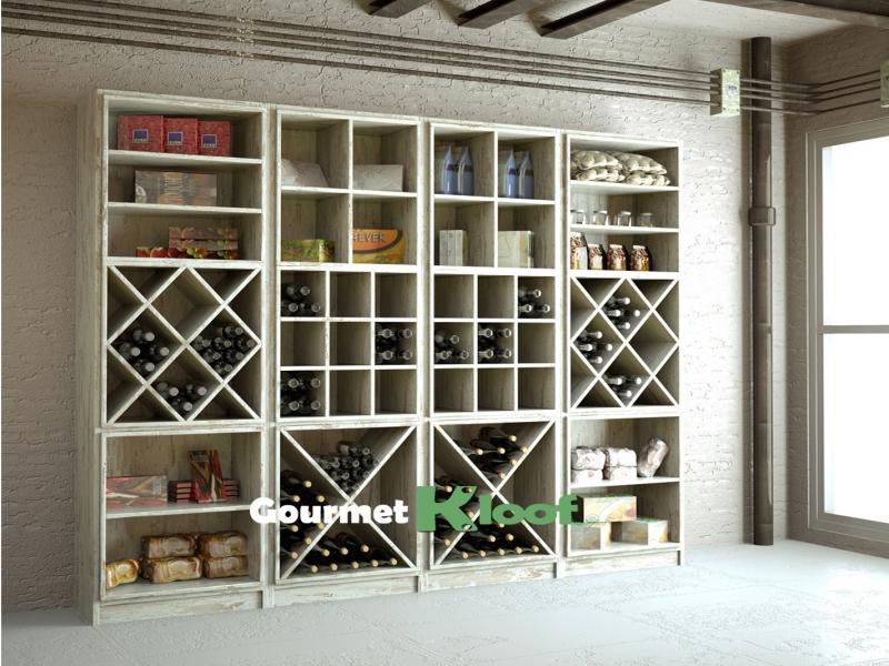 Estanter as para bodegas botelleros de madera para vinos - Estanterias para vino ...